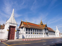 Throne hall in Grand Royal Palace in Bangkok Royalty Free Stock Photography