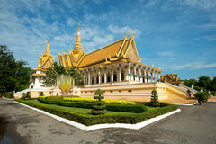 Throne Hall in the Royal Palace Compound, Phnom Penh, Cambodia Stock Photos
