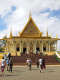 Throne Hall - Royal Palace - Phnom Penh Royalty Free Stock Photography