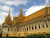 Throne Hall - Royal Palace - Phnom Penh Royalty Free Stock Images