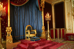 Throne of Napoleon Stock Photo