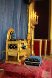 Throne of Napoleon Royalty Free Stock Image