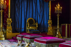 Throne Room in Fontainebleau Royalty Free Stock Photography