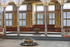 Throne Room Inside Harem Section Of Topkapi Palace, Istanbul, Turkey Stock Photography