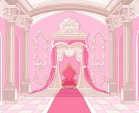 Free Throne Room Of Magic Castle Royalty Free Stock Photo - 31578975
