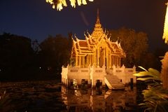 Throne, Thailand royalty free stock photos