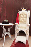 Throne Royalty Free Stock Photo