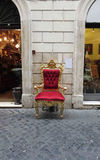 Throne Stock Photography