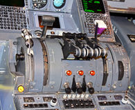Throttle quadrant Stock Photography
