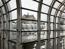 througsiktsfönster Royaltyfria Bilder