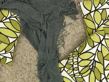 Throw Rug. A close up shot of a throw rug stock images