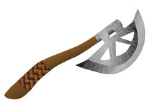 Throwing axe Royalty Free Stock Photography
