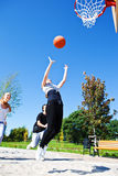 Throwing Ball Royalty Free Stock Images