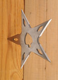 Throwing blade star Stock Photos
