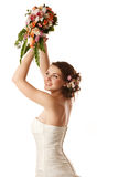 Throwing the bouquet Stock Image