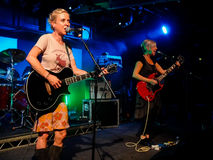 Throwing Muses - Kristin Hersh Royalty Free Stock Photo