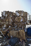 Thrown Cardboard Boxes Royalty Free Stock Photos