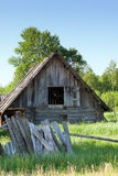 The thrown house Royalty Free Stock Image