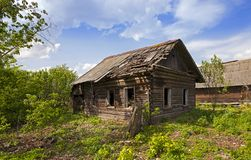 The thrown house Stock Photography