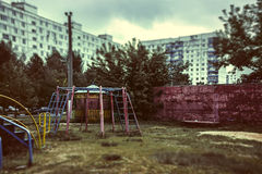Thrown playground Royalty Free Stock Photography