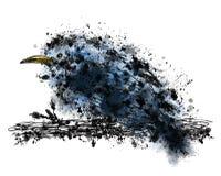 Thrush drawn ink Stock Image