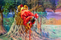 Théâtre de marionnette de Mandalay Images stock