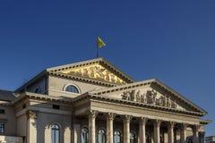Théâtre de Residenz à Munich, Allemagne, 2015 Image libre de droits