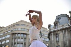 Théâtre de rue sur B-FIT dans la rue Bucarest 2015 Photos stock