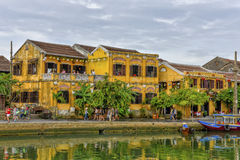 Thu Bòn River in Hoi An, Vietnam Royalty Free Stock Photo