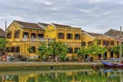 Thu Bòn River in Hoi An, Vietnam Royalty Free Stock Photo