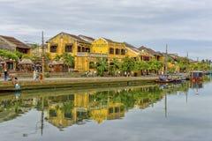 Thu Bòn River in Hoi An, Vietnam Stock Photo
