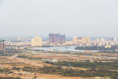 Thu Thiem półwysep Ho Chi Minh miasto Fotografia Stock