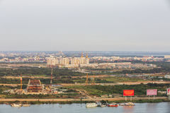 Thu Thiem półwysep Ho Chi Minh miasto Zdjęcie Royalty Free