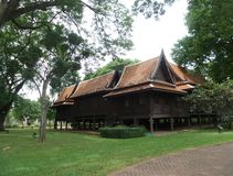 Thub Kwan la résidence royale en Sanam Chandra Palace, Thaïlande Photo stock
