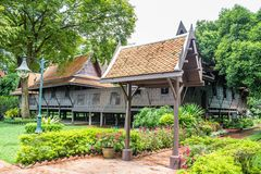 Thub Kwan Thai house Stock Photos