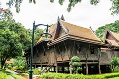 Thub Kwan Thai house Royalty Free Stock Image