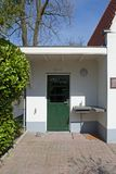 Thuis in de Joodse begraafplaats in Vreelandseweg Hilverusm Royalty-vrije Stock Foto's