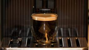 Thuis gebrouwen koffieroom Stock Fotografie