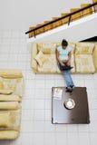 Thuis het werken Stock Foto