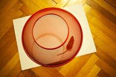 Thuis opgesloten muis Stock Foto