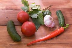 thuiswerk Keuken het genezen van ingrediënten op houten achtergrond Royalty-vrije Stock Afbeelding