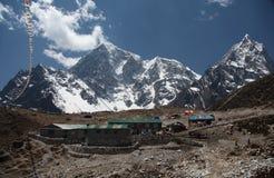 Thukla village, Nepal Royalty Free Stock Image