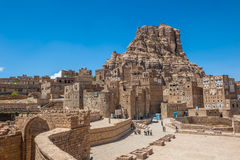 Thula ancient yemeni traditional village, Yemen Royalty Free Stock Photo
