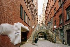 Thule - Duży włókna centrum w Sztokholm, Szwecja zdjęcie stock