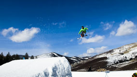 Thule Telemark Big Air Stock Photo