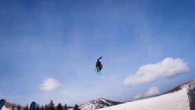 Thule Telemark Big Air Stock Photography