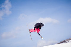 Thule Telemark Big Air Royalty Free Stock Photos