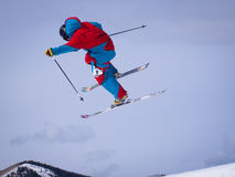Thule Telemark Big Air Royalty Free Stock Image