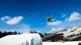 Thule Telemark Big Air Royalty Free Stock Photography