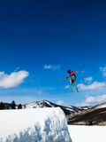 Thule Telemark Big Air Stock Photos